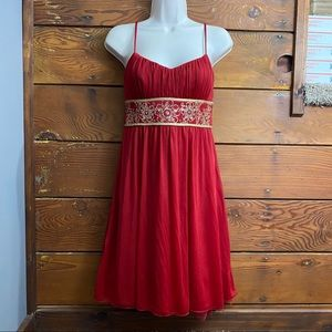 Formal red dress size 5/6